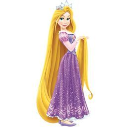 Sticker gigant PRINTESA RAPUNZEL - PRINTESELE DISNEY | RMK2552GM